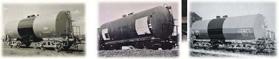 Liliput 240161 - 4-achs. Kesselwagen-Set  II SBB  Ep.III