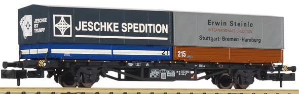 Liliput 265222 - Intermodal Container Wagon Lgjs 571 Jeschke