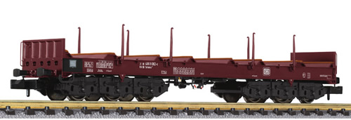 Liliput 265763 - Steel Transport Wagon with Stanchions DB Ep.IV