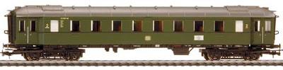 Liliput 328691 - Passenger car 2nd class B4ye-30/50 72886 Ksl DB Ep.III
