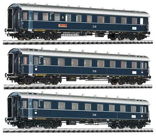 Liliput 330501 - German 3pc Passenger Car Set Dompfeil of the DB