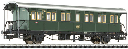 Liliput 334013 - Passenger Coach 2nd Class Bi (Cid bad01) DB Ep.III