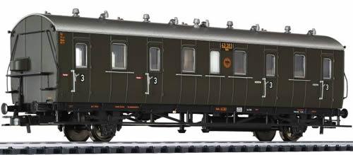 Liliput 334024 - Passenger Coach 3rd Class Cd 21 DRG  EP II
