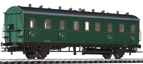 Liliput 334052 - Passenger Coach 3rd Class Cdtr-21/31  27.311 SNCB Ep.II