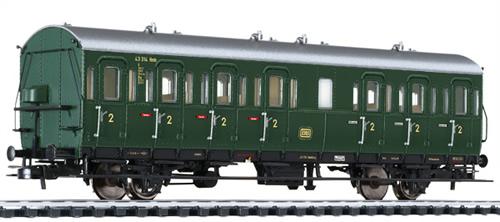 Liliput 334057 - PPassenger Coach 2nd Class B-21 DB Ep.III