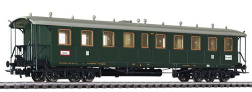 Liliput 334562 - 3rd Class Passenger Coach No. 14497