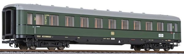 Liliput 334582 - 2nd Class Passenger Coach D-Zug-car type B4üe-38/53 (#1)