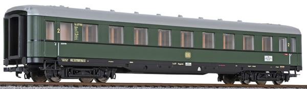 Liliput 334584 - 2nd Class Passenger Coach D-Zug-car type B4üe-38/53 (#3)