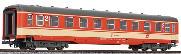 Liliput 334589 - 2nd Class Passenger Coach Schürzenwagen