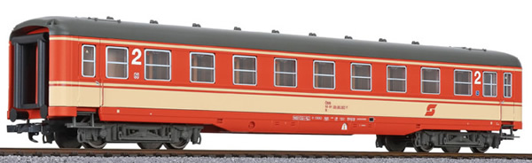 Liliput 334590 - 2nd Class Passenger Coach Schürzenwagen