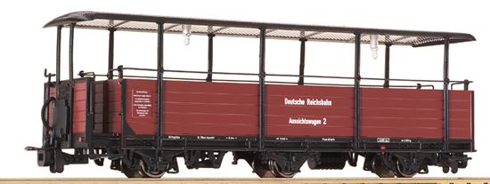 Liliput 344412 - Dome wagon, DR epoch II