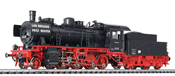 German Steam Locomotive BR 56 765 of the DR