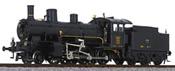 Swiss Towing Steam Locomotive B 3/4 1367 of the SBB - Museum