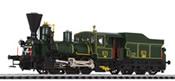 Austrian Museum Steam Locomotive 671 of the GKB