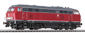 Diesel Locomotive BR 219 Red DB Ep.IV