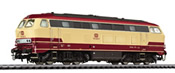 Diesel Locomotive BR 753 Beige/Red DB Ep.IV