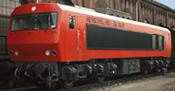 Diesel Locomotive DE2500 202 003-0 DB Ep.IV AC