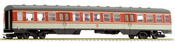 Middle Passenger Car for BR 614 of the DB - Orange & Grey