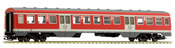 Middle Passenger Car for BR 614 of the DB AG - Red