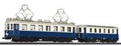 Austrian Tramcars with Sidecar Vienna local railway AG