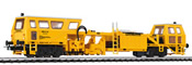 German Tamping Machine Plasser & Theurer of the DR