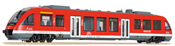 German Diesel Railcar LINT 27 BR 640 of the DB AG