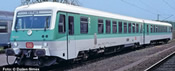 German Diesel Railcar BR 628 419-4/928 419-1 of the DB AG