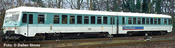 German Diesel Railcar BR 628 443-4/928 443-2 of the DB AG