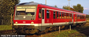German Diesel Railcar BR 628 567-0/928 567-7 of the DB AG