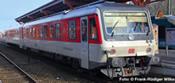German Diesel Railcar BR 628 502/928 502 of the DB AG - Sylt Shuttle Bus