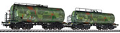 Tank Wagon Set Military Camouflage Livery DR Ep.II