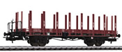 flat wagon SBB  ep.IV  with wood stanchion