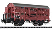 Cattle wagon with brakeman's cab, DR epoch III