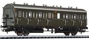 Passenger Coach 3rd Class C 21 DRG  EP II