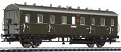 Passenger Coach 3rd Class Cdtr 21/31 DRG + Load Comp.  EP II