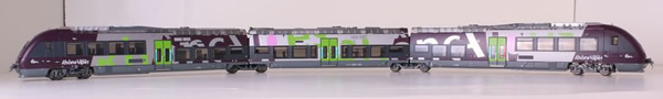 LS Models 10084 - French Diesel Railcar Bourgogne B 81000 of the SNCF