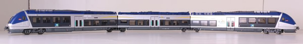 LS Models 10087S - French Diesel Railcar Bourgogne B 80801 of the SNCF (DCC Sound Decoder)