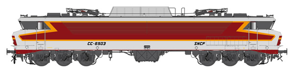 LS Models 10321S - French Electric Locomotive CC 6503 of the SNCF (DCC Sound Decoder)
