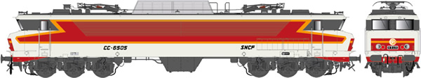 LS Models 10323S - French Electric Locomotive CC 6505 of the SNCF (DCC Sound Decoder)
