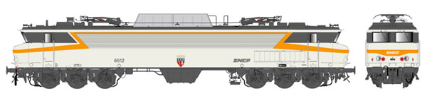 LS Models 10327S - French Electric Locomotive CC 6512 of the SNCF (DCC Sound Decoder)