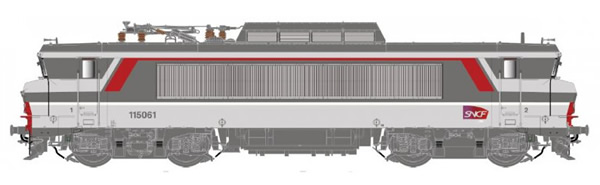 LS Models 10490S - French Electric Locomotive series BB 15061 of the SNCF (DCC Sound Decoder)
