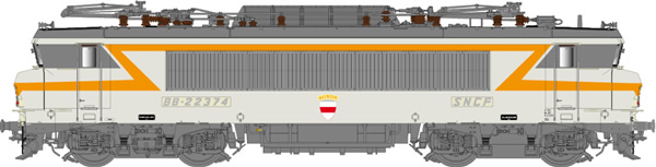 LS Models 10559 - French Electric Locomotive BB 22200 En Voyage of the SNCF