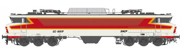 LS Models 10824S - French Electric Locomotive CC 6517 of the SNCF (Sound)