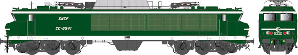 LS Models 10825 - French Electric Locomotive CC 6541 of the SNCF