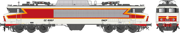 LS Models 10828S - French Electric Locomotive CC 6567 of the SNCF (Sound Decoder)