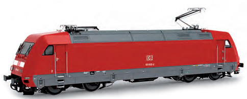 LS Models 16046 - German Electric Locomotive BR101 007-3 of the DB AG