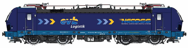 LS Models 16152S - Electric Locomotive Vectron NECOSS (DCC Sound Decoder)