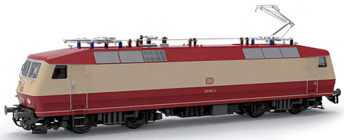 LS Models 16581S - German Electric Locomotive BR120 001-3 of the DB (Sound Decoder)