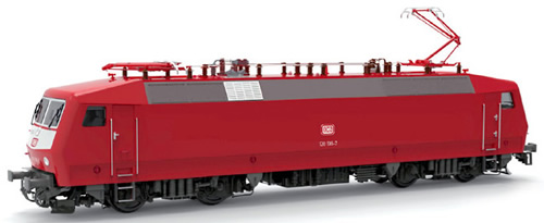 LS Models 16584 - German Electric Locomotive BR120 136-7 of the DB AG