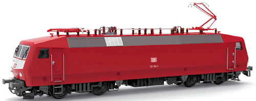 LS Models 16584S - German Electric Locomotive BR120 136-7 of the DB AG (Sound Decoder)